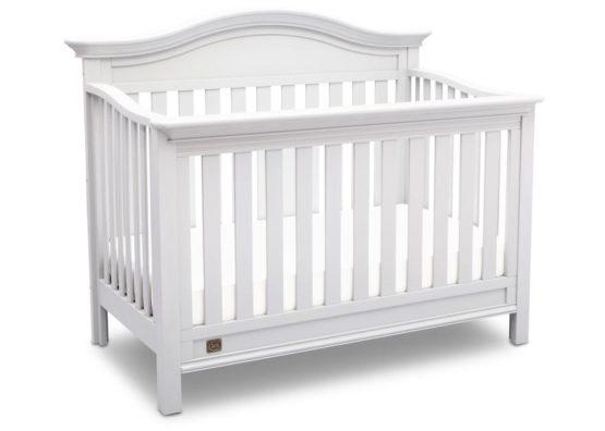 Delta Children 4-in-1 Convertible Crib – Banbury (White)