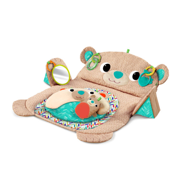 Bright Starts Tummy Time Prop Up And Play Mat