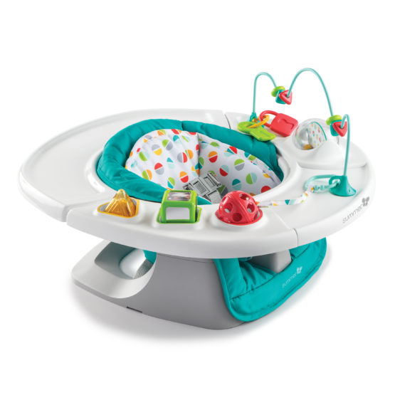 Summer Infant 4-in-1 Deluxe SuperSeat – Teal