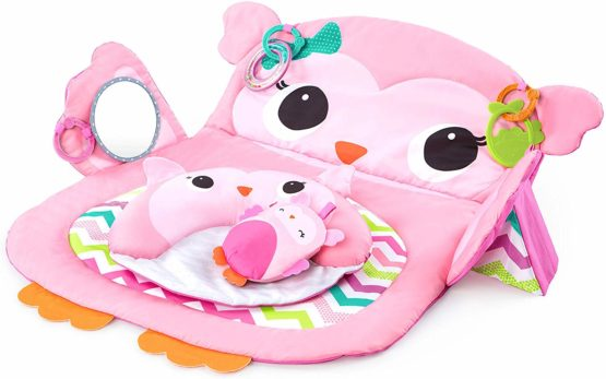 Bright Starts Prop Up & Play Tummy Time Mat