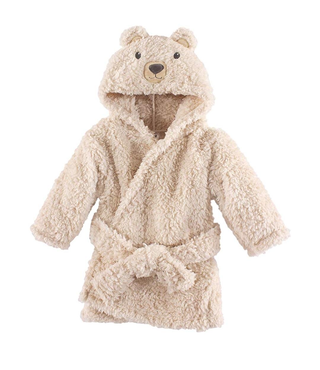 Hudson Baby Unisex Plush Robe