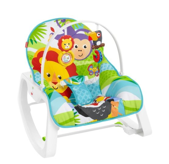Fisher-Price Infant To Toddler Rocker – Jungle Green