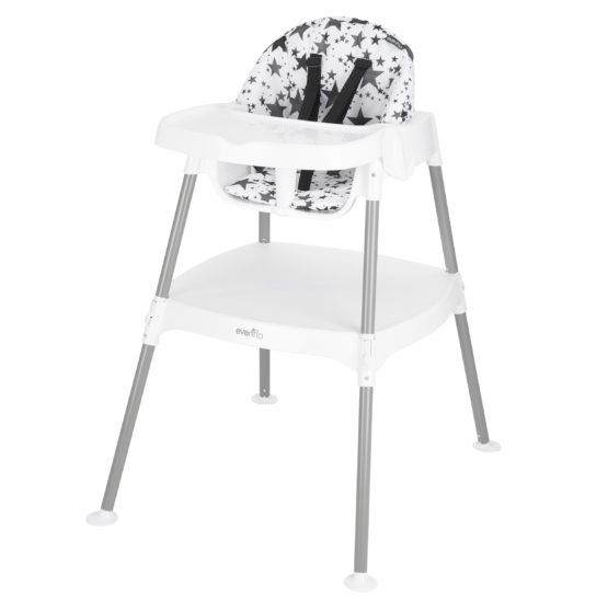Evenflo 4-in-1 Convertible High Chair- Pop Star
