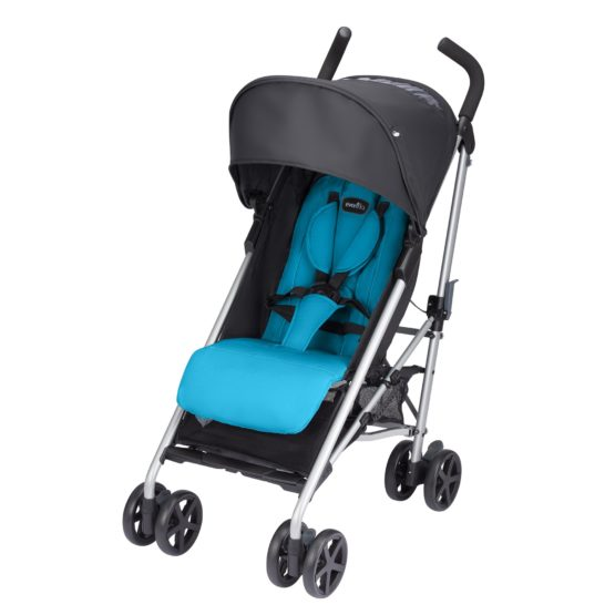Evenflo Minno Lightweight Stroller – Seashore Blue