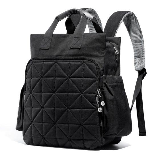 SoHo Kenneth 6pcs Diaper Bag Set – Black