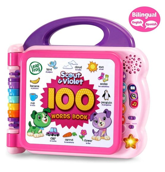 Leap Frog 100 Words Interactive Book – Pink