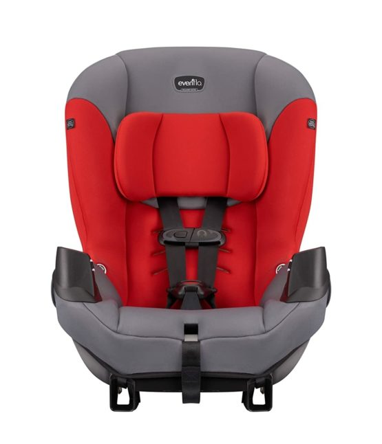 Evenflo Sonus Convertible Carseat – Lava Red