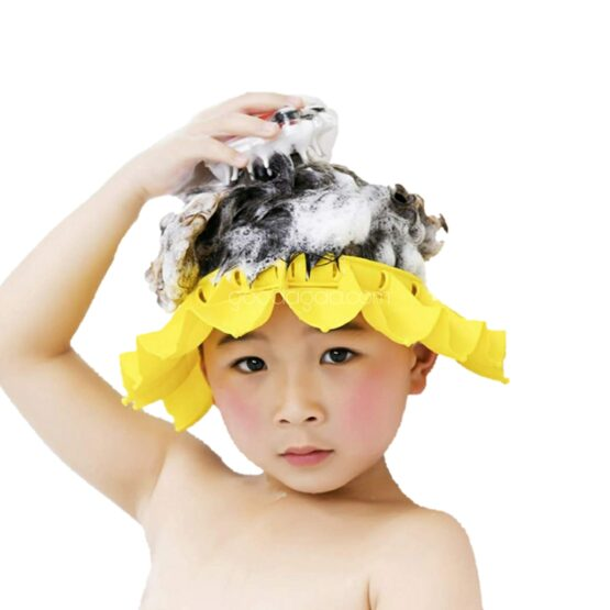 Baby Silicone Shampoo Shower Bathing Cap
