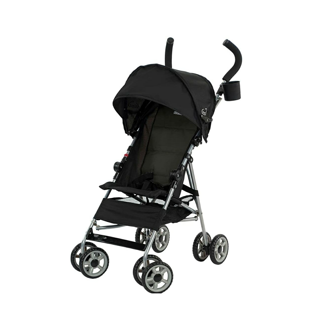 Kolcraft Cloud Umbrella Stroller – Black